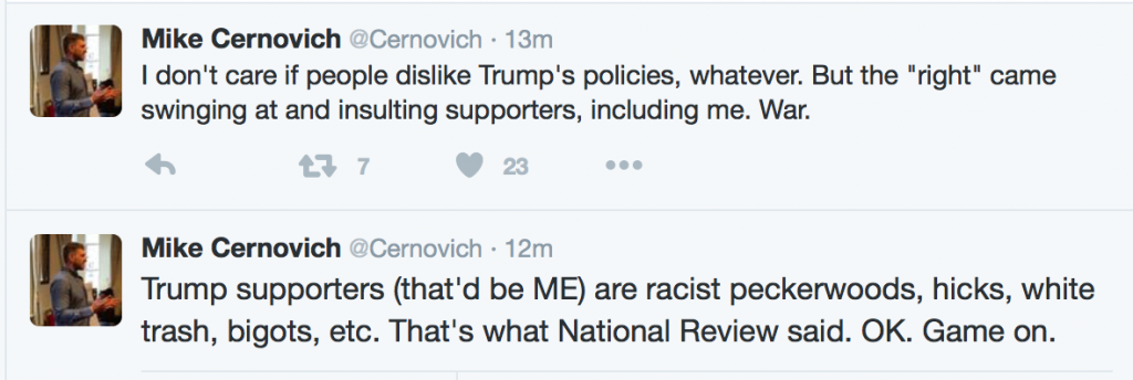 Mike Cernovich Twitter